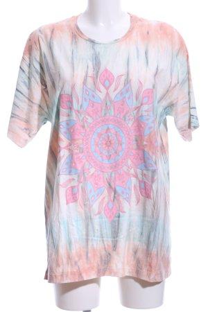 (The Mercer) NY T-Shirt Batikmuster Hippie-Look