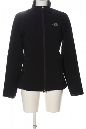 The North Face Kurtka outdoor czarny W stylu casual