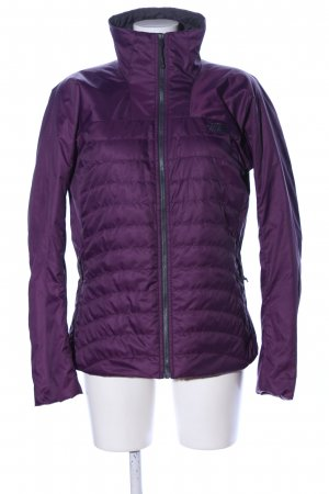 The North Face Donsjack lila quilten patroon casual uitstraling