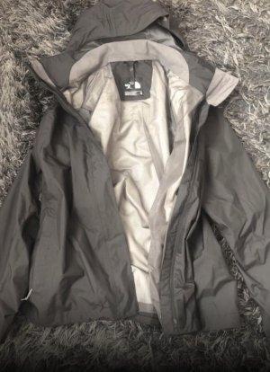 The North Face Kurtka przeciwdeszczowa czarny-szary
