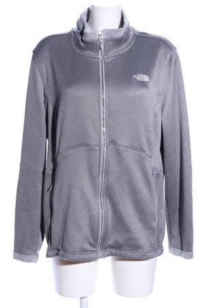 The North Face Veste polaire gris clair style décontracté