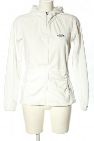 The North Face Giacca in pile bianco sporco stile casual