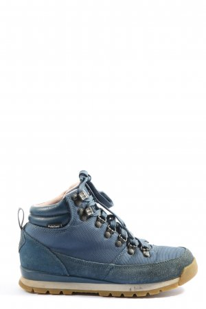The North Face High Top Sneaker blue casual look