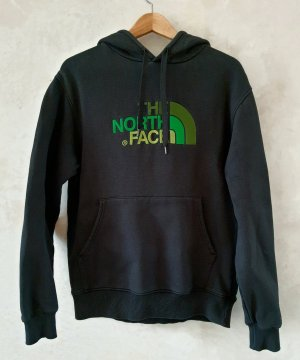 The North Face Bluza z kapturem czarny-zielony