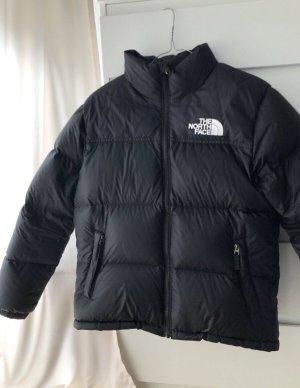 The North Face Kurtka puchowa czarny-biały