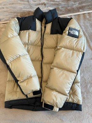 The North Face Winter Jacket black-beige