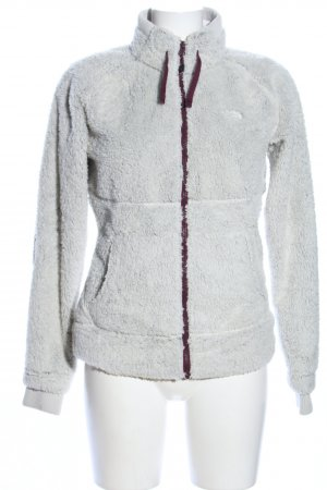 The North Face Kunstfelljacke hellgrau Casual-Look