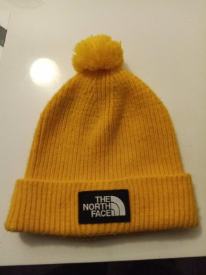 The North Face Beanie gold orange