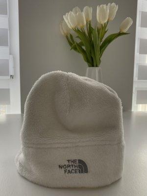 The North Face Gorro blanco-color plata