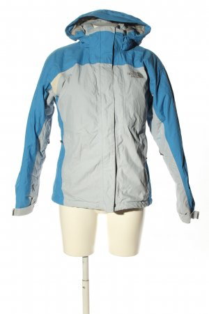 The North Face Outdoor jack lichtgrijs-blauw casual uitstraling