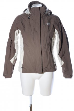 The North Face Outdoor Jacket brown-natural white casual look