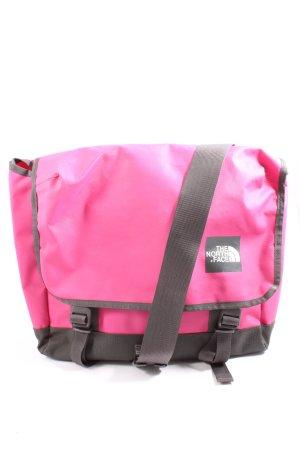 The North Face Torba z klapą czarny-różowy W stylu casual