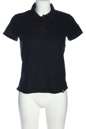 The North Face Camiseta tipo polo negro look casual