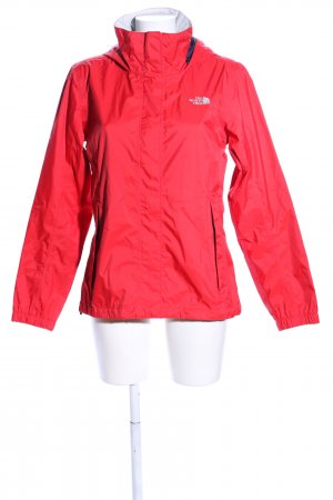 The North Face Raincoat red casual look