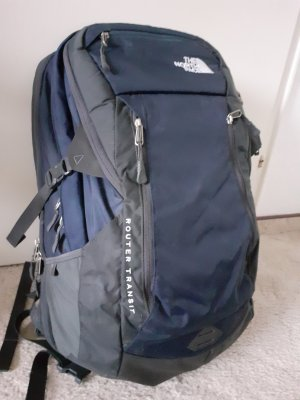 The North Face Trekking Backpack blue-dark blue