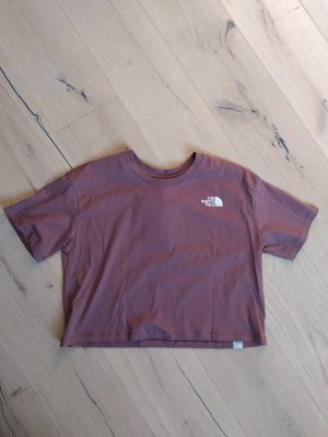 The North Face Cropped Shirt grey lilac
