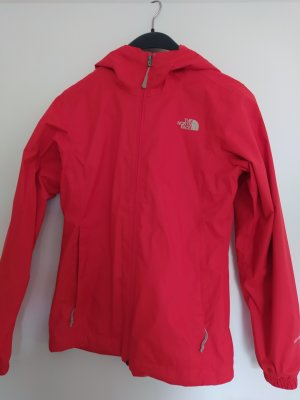 The North Face Outdoor Jacket brick red polyester