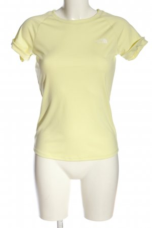 The North Face Sports Shirt primrose-white casual look