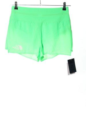 The North Face Short de sport vert style athlétique