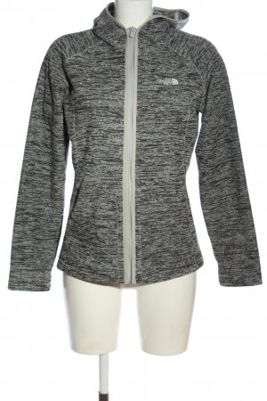 The North Face Sweatjacke hellgrau meliert Casual-Look