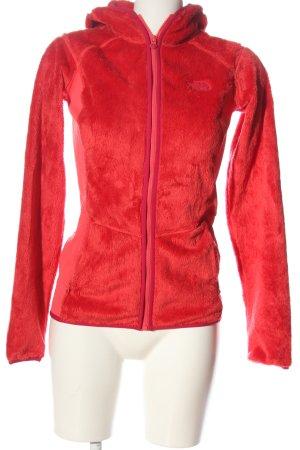 The North Face Kurtka dresowa czerwony W stylu casual
