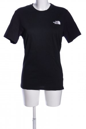 The North Face T-Shirt schwarz Casual-Look