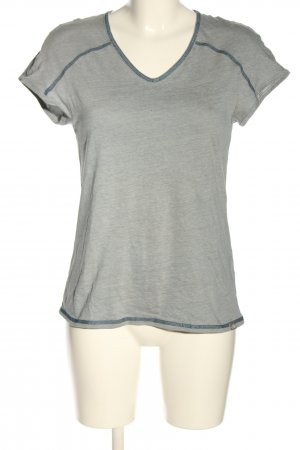 The North Face T-Shirt light grey-blue flecked casual look