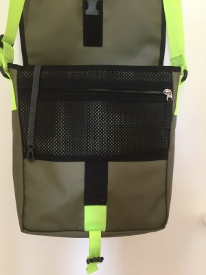 The North Face Shoulder Bag green grey-neon yellow