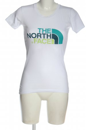 The North Face Camisa de cuello barco estampado temático look casual