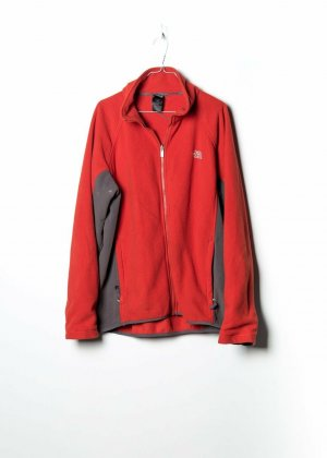 The North Face Unisex Fleecepullover in Rot