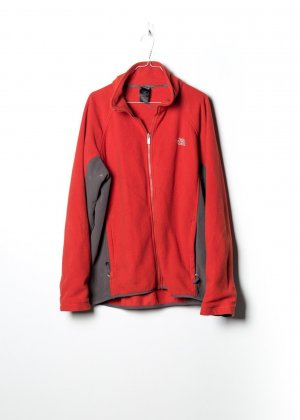 The North Face Pullover in pile rosso