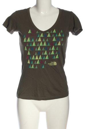 The North Face Camisa con cuello V multicolor look casual