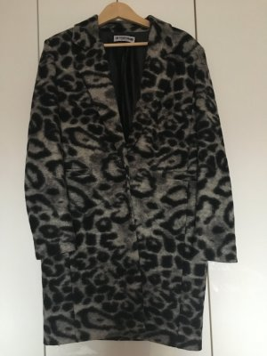 The Other Brand / Wollmantel / Leo Print / Gray / Jades Gr S