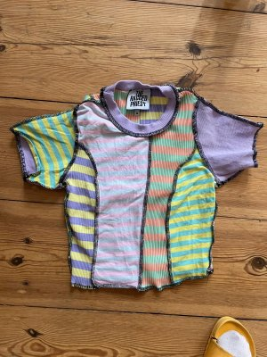 The Ragged Priest Cropped Top multicolored