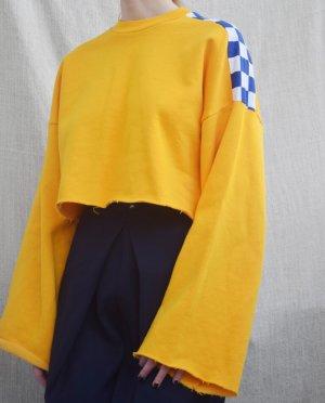 The Ragged Priest Felpa giallo scuro-giallo-oro Cotone