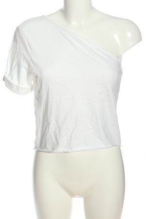 The Range Haut avec une épaule dénudée blanc style d'affaires