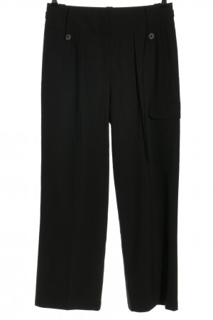 The row Bundfaltenhose schwarz Business-Look