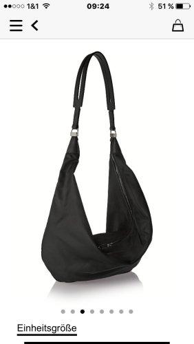 THE ROW die Marke der Olson Twins .. schwarze Tasche mit goldener Hardware