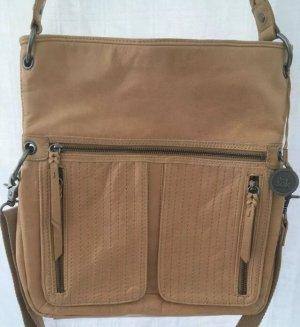 The Sak Shoulder Bag light brown leather
