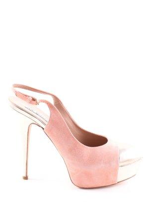 The seller High Heels pink-goldfarben Elegant