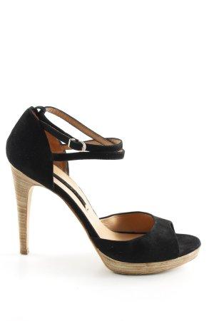 The seller Riemchen-Sandaletten schwarz Elegant