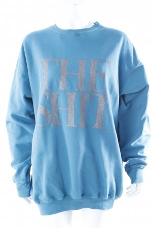 "The Shit Sweatshirt ""The Shit"" petrol Gr. 38 III"