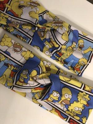 Nauszniki żółty-niebieski