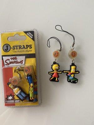The Simpsons Schlüsselanhänger 4 Stück