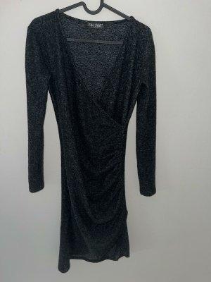Sukienka dresowa ciemnoszary