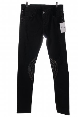 the unknown factory Jeans schwarz Street-Fashion-Look