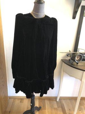 H&M Studio Robe Babydoll noir