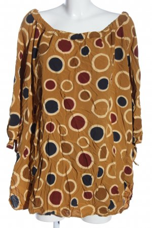 Thea Carmen blouse volledige print casual uitstraling