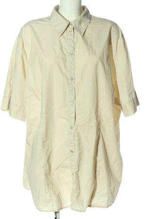 THEA plus Shirt met korte mouwen wolwit casual uitstraling