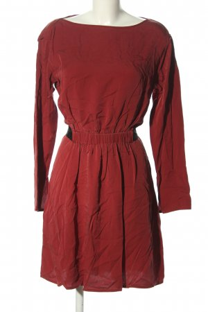 Theory Blusenkleid rot Casual-Look